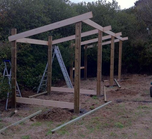 Cabane de jardin isolee pau 3611 - Fondation abri jardin pau ...